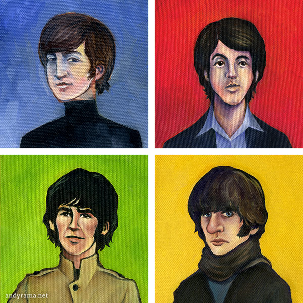 The Beatles by Andrew O. Ellis - Andyrama