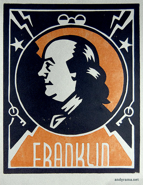 Ben Franklin by Andrew O. Ellis - Andyrama