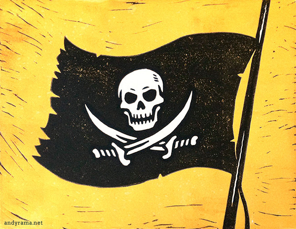 Jolly Roger by Andrew O. Ellis - Andyrama