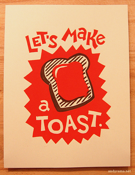 Let's Make a Toast.by Andrew O. Ellis - Andyrama