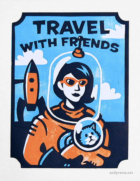Travel with Friends by Andrew O. Ellis - Andyrama