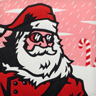 Santa Claus Explores the Peppermint Tundra